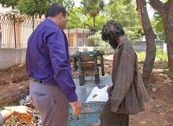 Krishnan feeds 400 mentally ill people every day