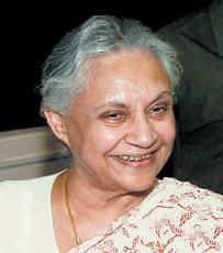 Delhi Chief Minister, Sheila Dikshit